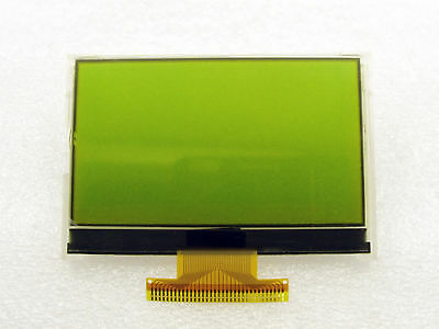 12864 Graphics LCD Display Module 128x64 Dots STN Black On Y//green Backlight