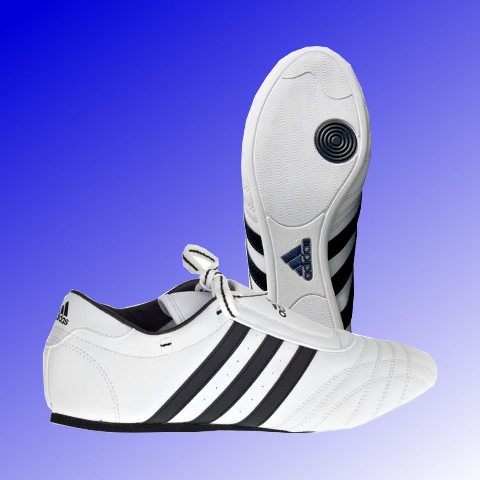 Adidas® SM II Taekwondo Slipper TKD Kampfsport Schuhe Sneaker Slipper Taekwondo weiß 36 - 48 de58e7