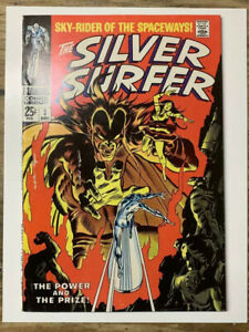 Silver-Surfer-3-Silver-Age-Marvel-Comic-Book-1st-Mephisto-FN