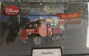 NEW-Disneystore-PLANES-FIRE-RESCUE-MAYDAY-Die-Cast