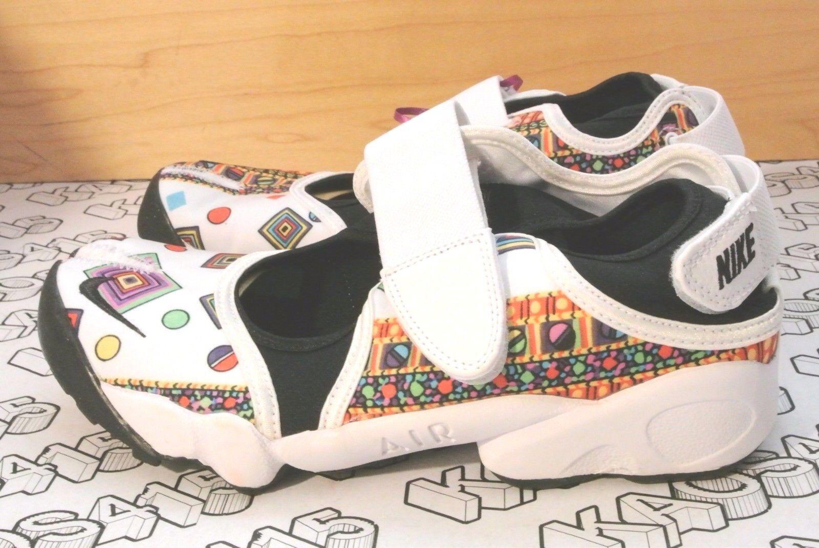 RARE Nike Liberty London Rift Sandal GEM White Merlin QS 746083 100 WOMENS 8