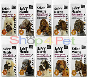 Safe-039-t-039-Muzzle-4-Dogs-by-Sharples-039-n-039-Grant-Effective-lightweight-Comfortable