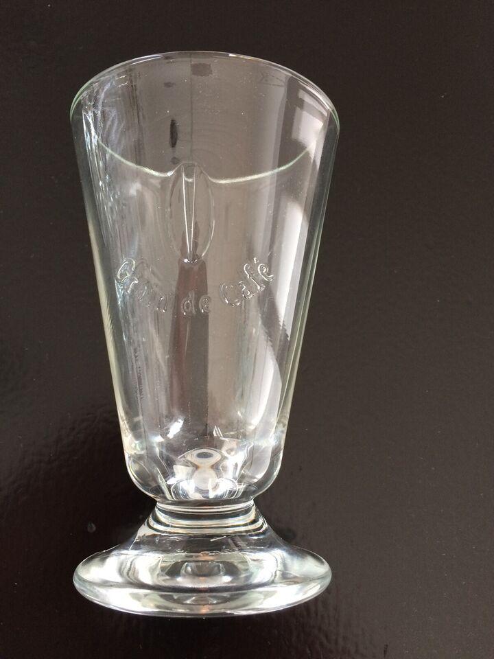 Glas, Cafe` latte glas, Grain de Cafe`