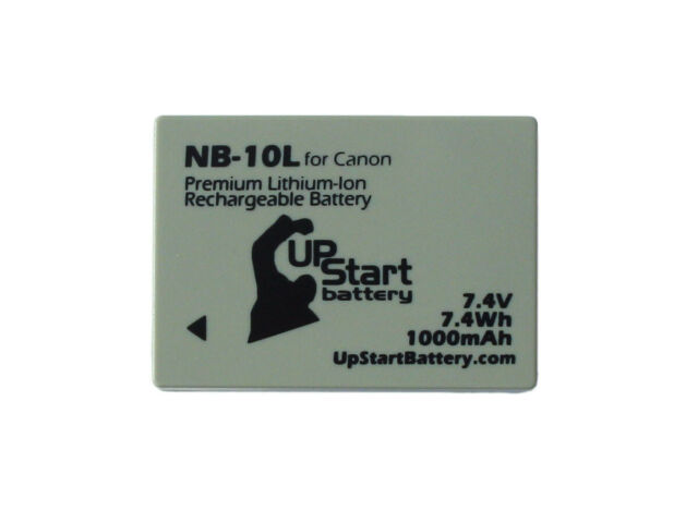 Battery for Canon SX50, G15, SX40 HS, CB 2LC