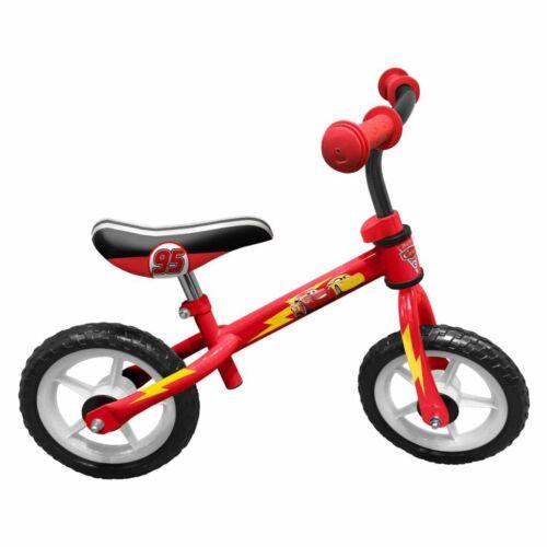 AK Sports Bicicletta Senza Pedali Bimbi Cars 24 cm Rossa 2 Anni+ Bici Bambini