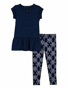 d127d0cf5535c Image is loading Nautica-Childrens-Apparel-Little-Girls-Two-Piece-Legging-