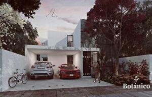 Venta de casa en Merida, Yucatan, Conkal, Botanico Mod.143