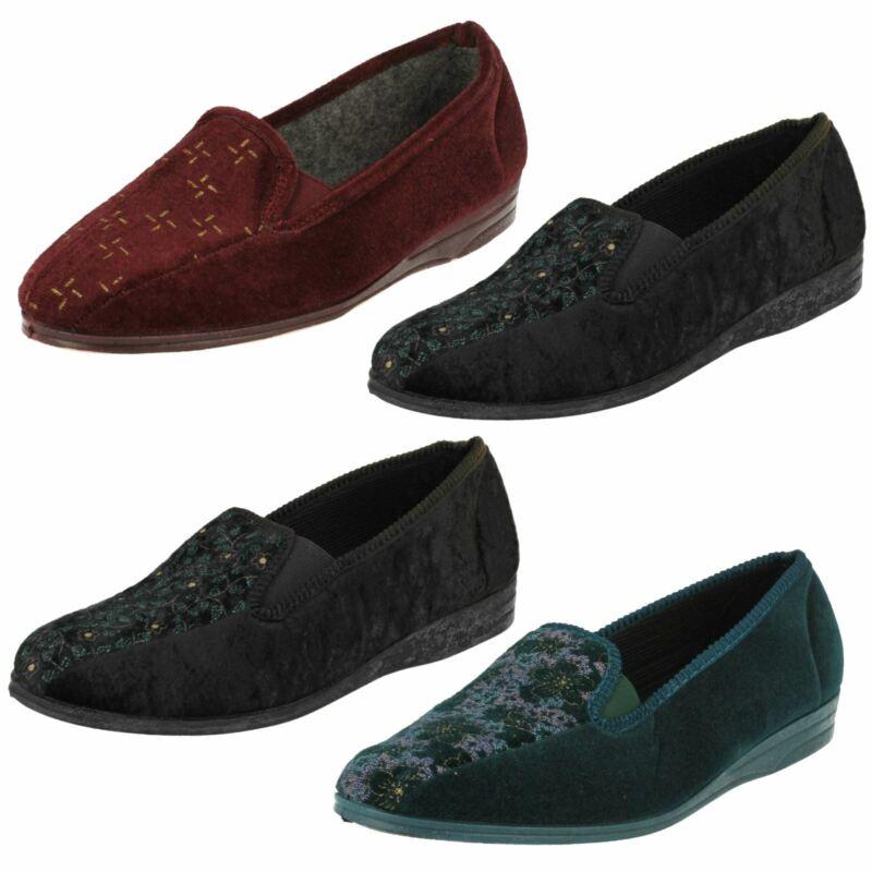 Donna Lady Love Mocassini Pantofole Rachael