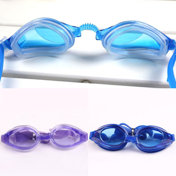 Adult Anti-fog Waterproof UV Elastic Protection Swimming Goggles Glasses