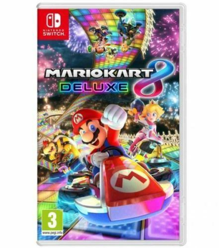 Nintendo Switch Games: Mario Kart 8 Deluxe