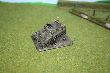 USA - Destroyed Sherman M4A1 - Flames of War XX504 painted
