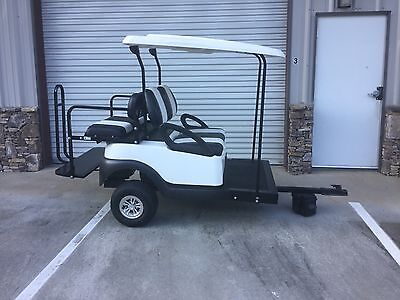 Golf Cart Trailer Carry Four More People When You Need To Club Car Precedent Ebay