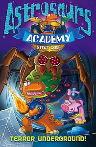 Astrosaurs-Academy-3-Terror-Underground-Cole-Steve-Very-Good-Book
