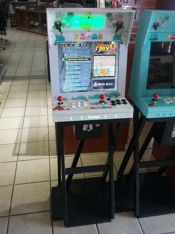 Arcade games latest Coin operating Pandora machine complete new