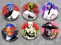 Lucha Libre You Choose Magnets Or Mirrors Set Of 6