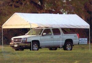 Image is loading Shelter-Logic-25757-10-039-x-20-039- & Shelter Logic #25757 10u0027 x 20u0027 6-Leg MAX AP Canopy NEW! | eBay
