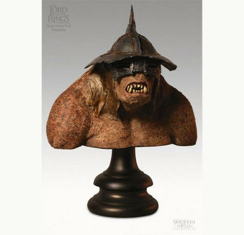 Tolkien LORD OF THE RINGS CATAPULT TROLL MAQUETTE BUST STATUE by SIDESHOW WETA