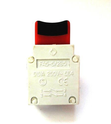 Einbau//Geräteschalter  FA5-5//2B5 für Maschinen und  Elektrowerkzeuge