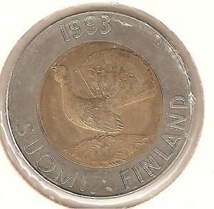 Finlandia 10 Marchi 1993 bimetallico perfetto - Italia - Finlandia 10 Marchi 1993 bimetallico perfetto - Italia