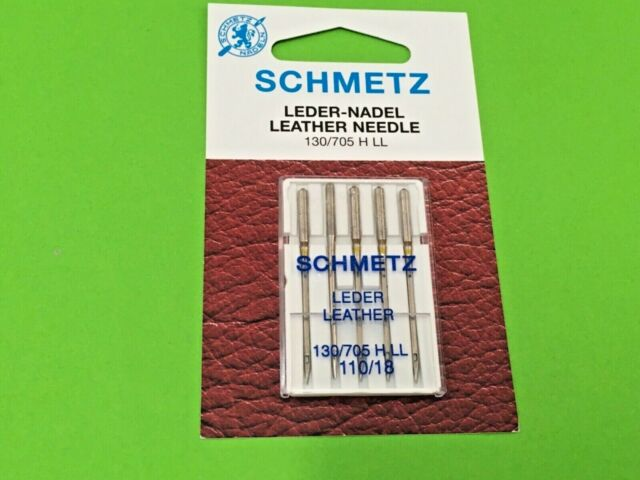 Schmetz cuir aiguilles//aiguilles à coudre force 120 5 pièces