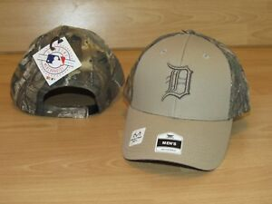 a681f44dbec Image is loading Detroit-Tigers-Fan-Favorite-Realtree-Xtra-Camo-Adjustable-
