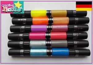 CreativeNails-Nail-Art-Pen-Stift-Nagellack-12-Farben-XL-Set-NEU