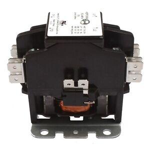 Details about Contactor 2 Pole 40 Amp 24V Coil HVAC AC 50A 30A Air  Condition Heat Pump Carrier