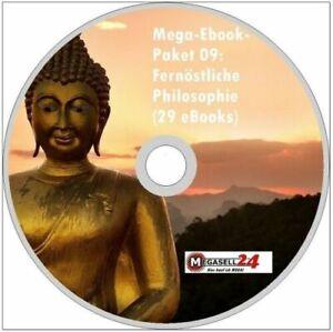 ☝ MEGA EBOOK PAKET 09 Fernöstliche Philosophie CD DVD 29 eBooks PDF Paket 1A NEU