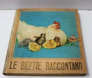 LE-BESTIE-RACCONTANO-Alessio-Benedek-Editrice-Genio-Milano-1934-ill-Savely