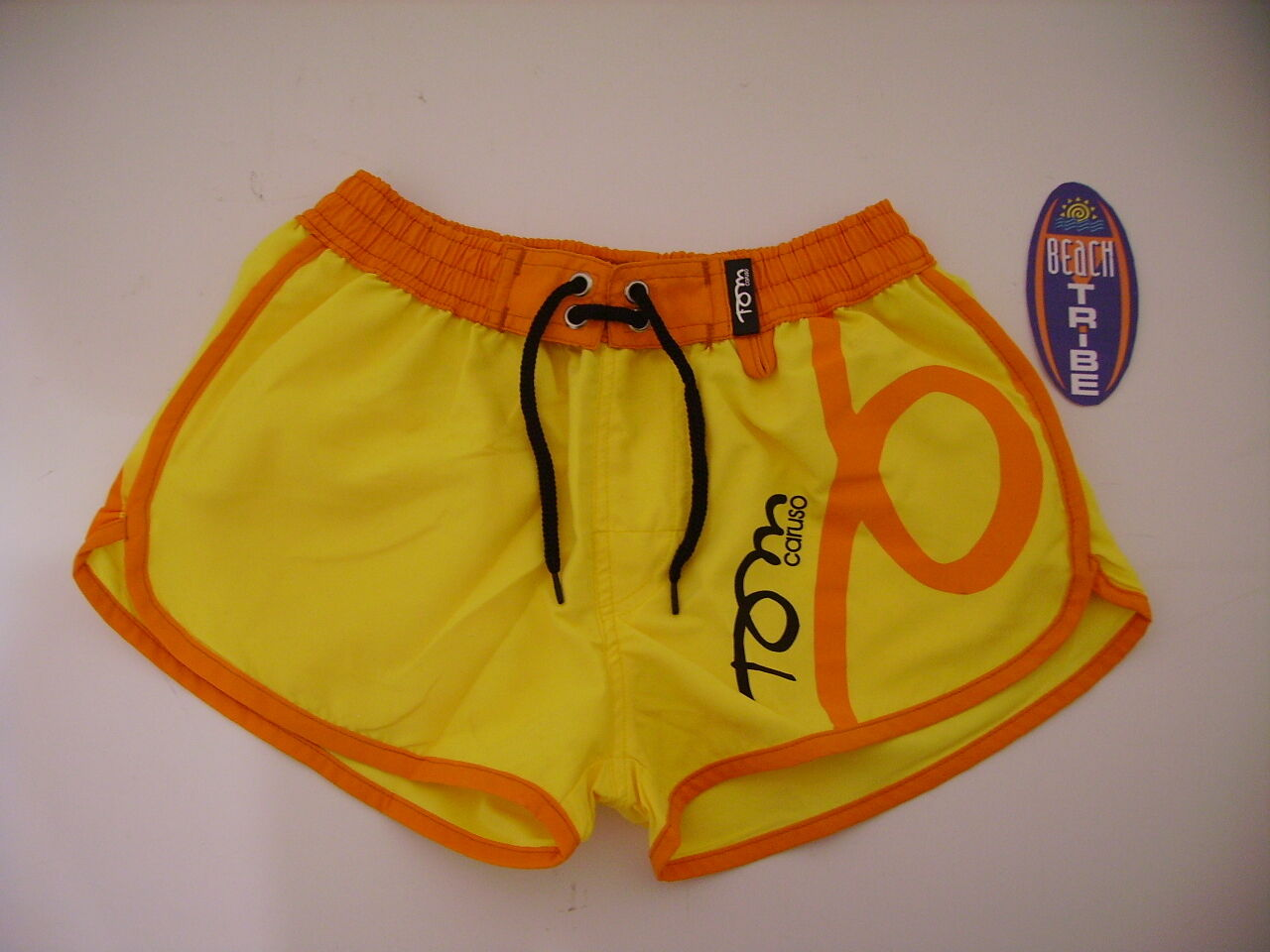 SHORTS BEACH TENNIS FRAU FRAU FRAU TOM CARUSO GELB Orange S c04409
