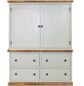 Image Is Loading Handmade 2 Door Kitchen Larder Cupboard Freestanding