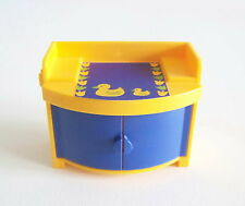 PLAYMOBIL (R206) MAISON - Placard Porte Bleue & Table à Langer Chambre 3207