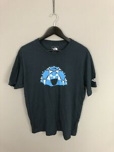 THE-NORTH-FACE-T-Shirt-Large-Navy-Great-Condition-Men-s