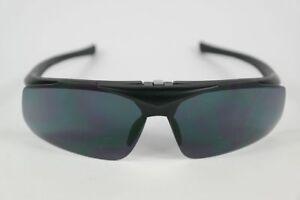 Flash-13-251701-Cat-3-77-18-Black-half-Rim-Sunglasses-New