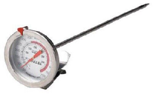 "King Kooker With Clasp Metal Fusion 8/"" Deep Fry Thermometer"