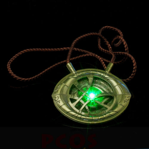 Doctor Strange Stephen Strange Cosplay Eye of Agamotto Necklace with Nice Box