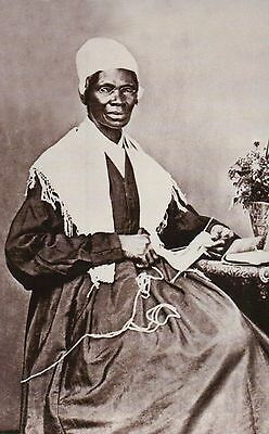 Sojourner Truth, African American Abolitionist, Freed Slave - Civil War Postcard