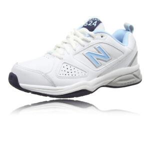 NEW Balance 624 donna bianco scarpa da allenamento