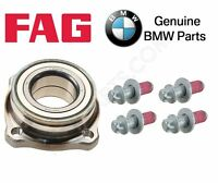 Bmw F01 F02 F06 F07 F10 F12 Rear Left Or Right Wheel Bearing & 4 Bolts Kit on sale