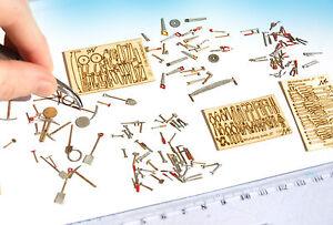 Miniature-Tools-Mega-set-KIT-HO-scale-model-railway-diorama-scenery-1-87-HOn2