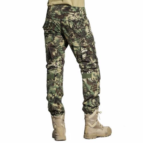 Tactical Combat Uniform Shirt Pants G3 Airsoft GEN3 Camo MultiCam BDU TYP Green