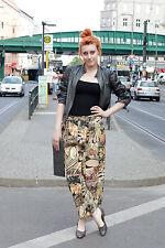 Hose Sommerhose Schlabberhose pants 90er True VINTAGE 90s Dschungel loose fit