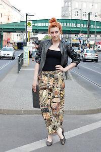 Tuyau des Pants True Sommerhose Vintage ann Schlabberhose 90er fYqnxfE7r4