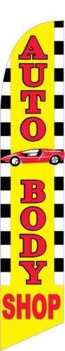 Auto Body Shop Flag   #5199