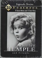 Shirley Temple & Friends 8 Movies 15 Shorts Brand 4-dvd's In Collector's Tin