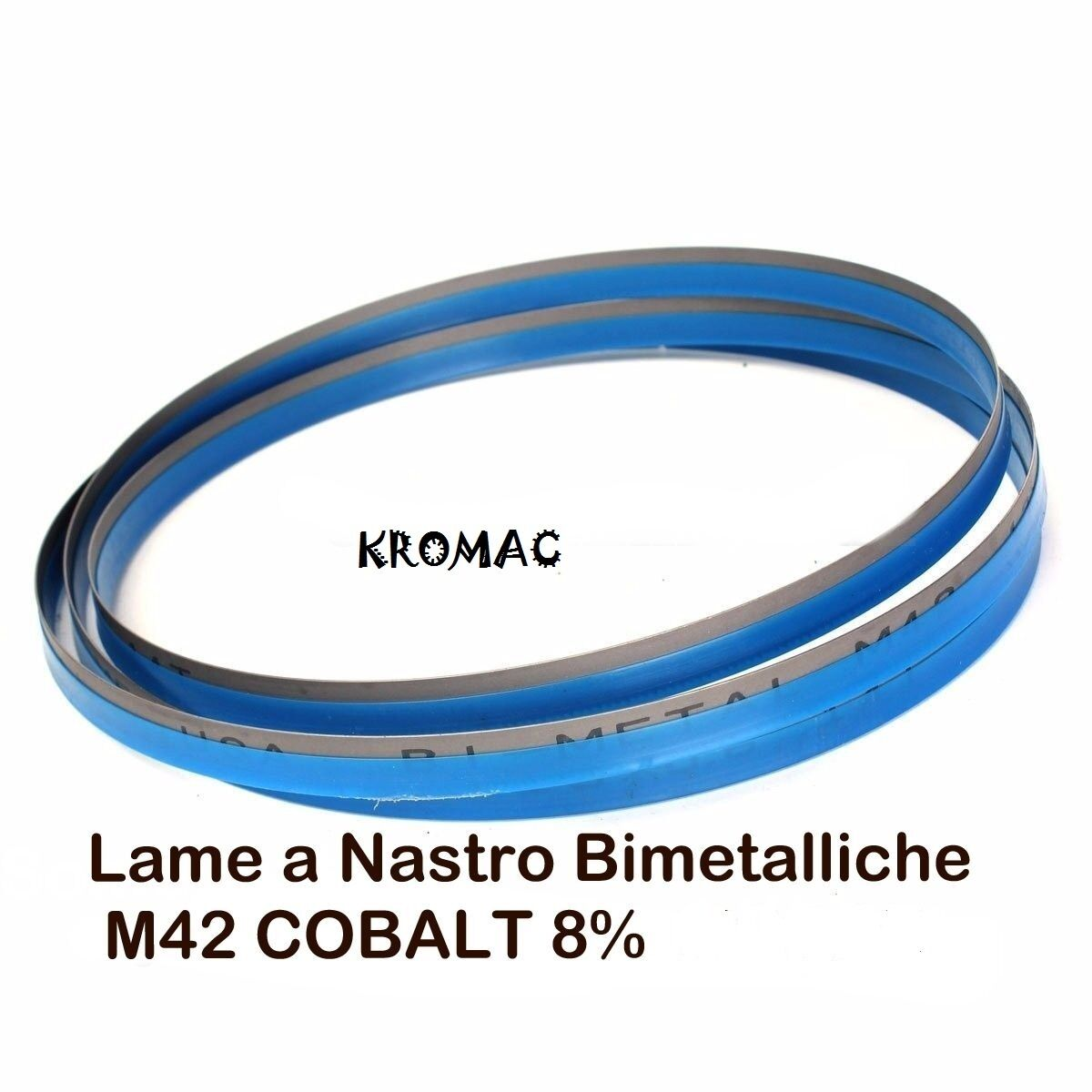LAMA  Bi-Metal M42 PLUS COB.8%    LARGHEZZA 27 mm.per segatrici a nastro per ferro 14f2ee