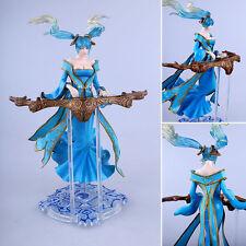 LOL League Of Legends SEX Bosom Blue Sona Buvelle Figure Figurine Statue Toy