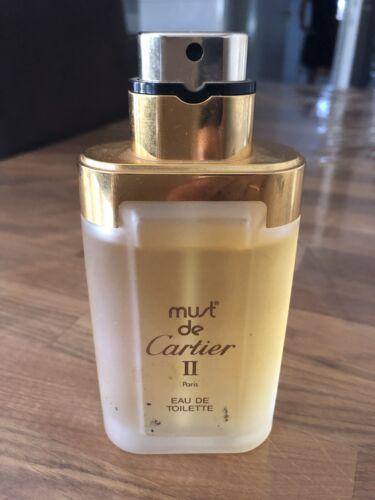 Must de Cartier ll Parfum 100 ml Rarität  GjqdT 94uyt