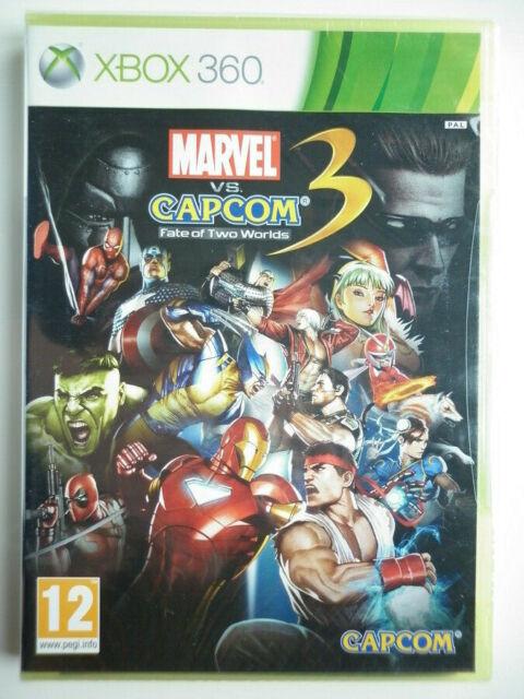 Marvel Vs Capcom 3 Fate Of Two Worlds Jeu Vidéo XBOX 360