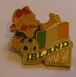 WORLD-CUP-94-USA-SOCCER-IRELAND-Limited-Edition-500-vintage-pin-badge-Z8J